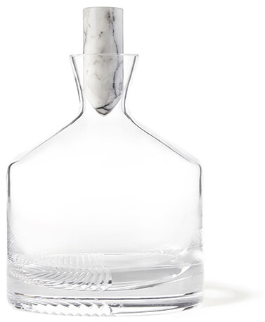 NUDE GLASS Alba Whiskey Bottle