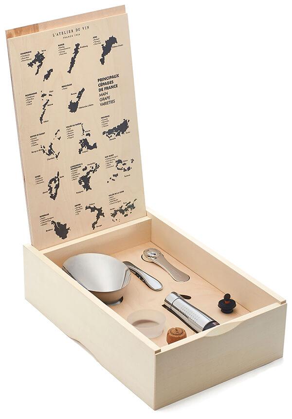 L'ATELIER DU VIN Oeno Box Connoisseur Gift Set
