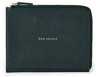 Not Another Bill Bon Voyage Leather Folio