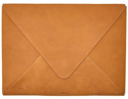 Russell+Hazel Leather Envelope Laptop Portfolio