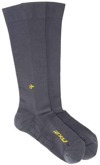 Unisex Flight Compression Socks Light Cushion