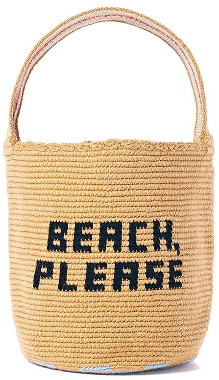 Soraya Hennessy goop Exclusive Woven Mochila Bucket Bag