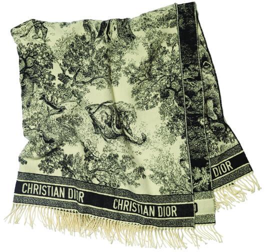 Dior blanket