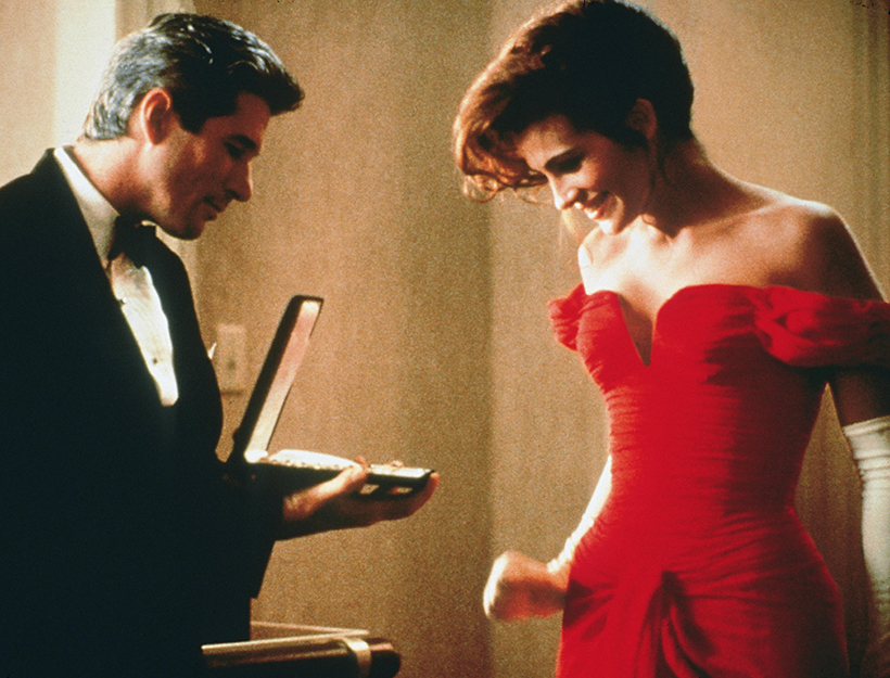 No Merchandising. Editorial Use Only. No Book Cover Usage. Mandatory Credit: Photo by Touchstone Pictures/REX/Shutterstock (5884486l) Richard Gere, Julia Roberts Pretty Woman - 1990 Director: Garry Marshall Touchstone Pictures USA Scene Still Comedy