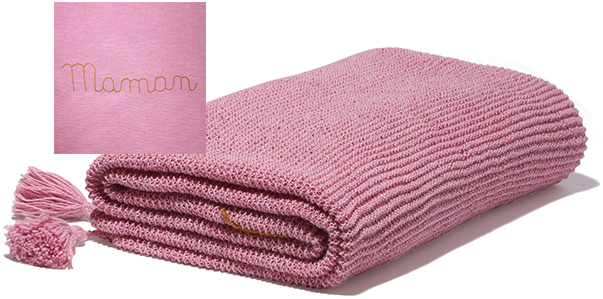 OEUF Maman Baby Alpaca Blanket