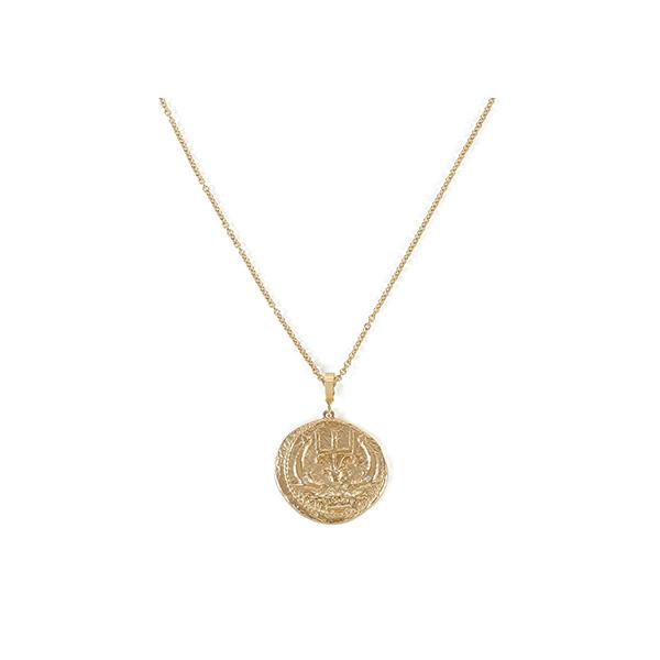 Azlee Diamod Coin with 20' Chain