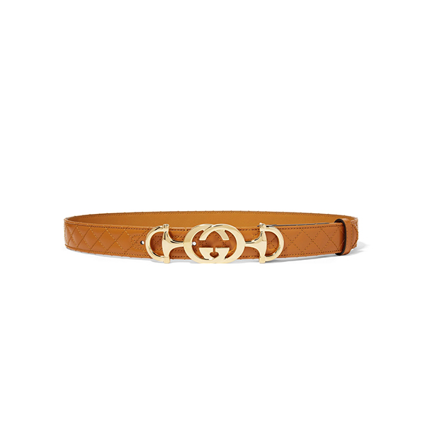 Gucci Quilted leather belt