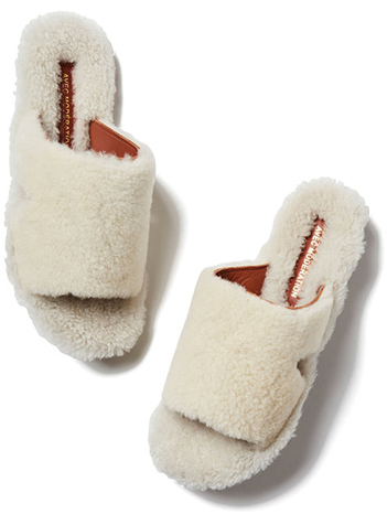 AVEC MODERATION Sapporo Shearling Sand