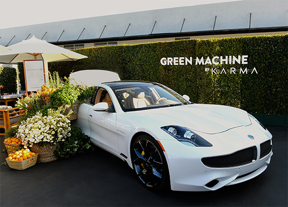 Green Machine by Karma