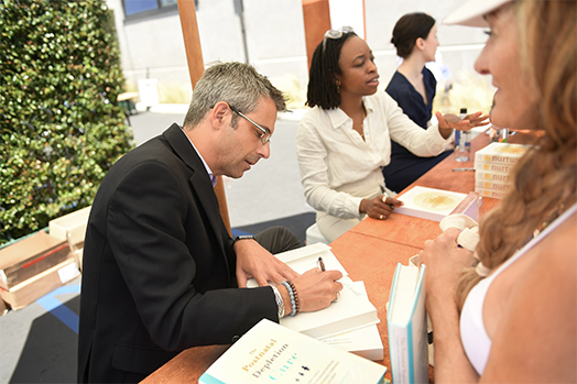 Erica Chidi Cohen and Dr. Oscar Serrallach