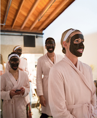 mud masks at In goop Health