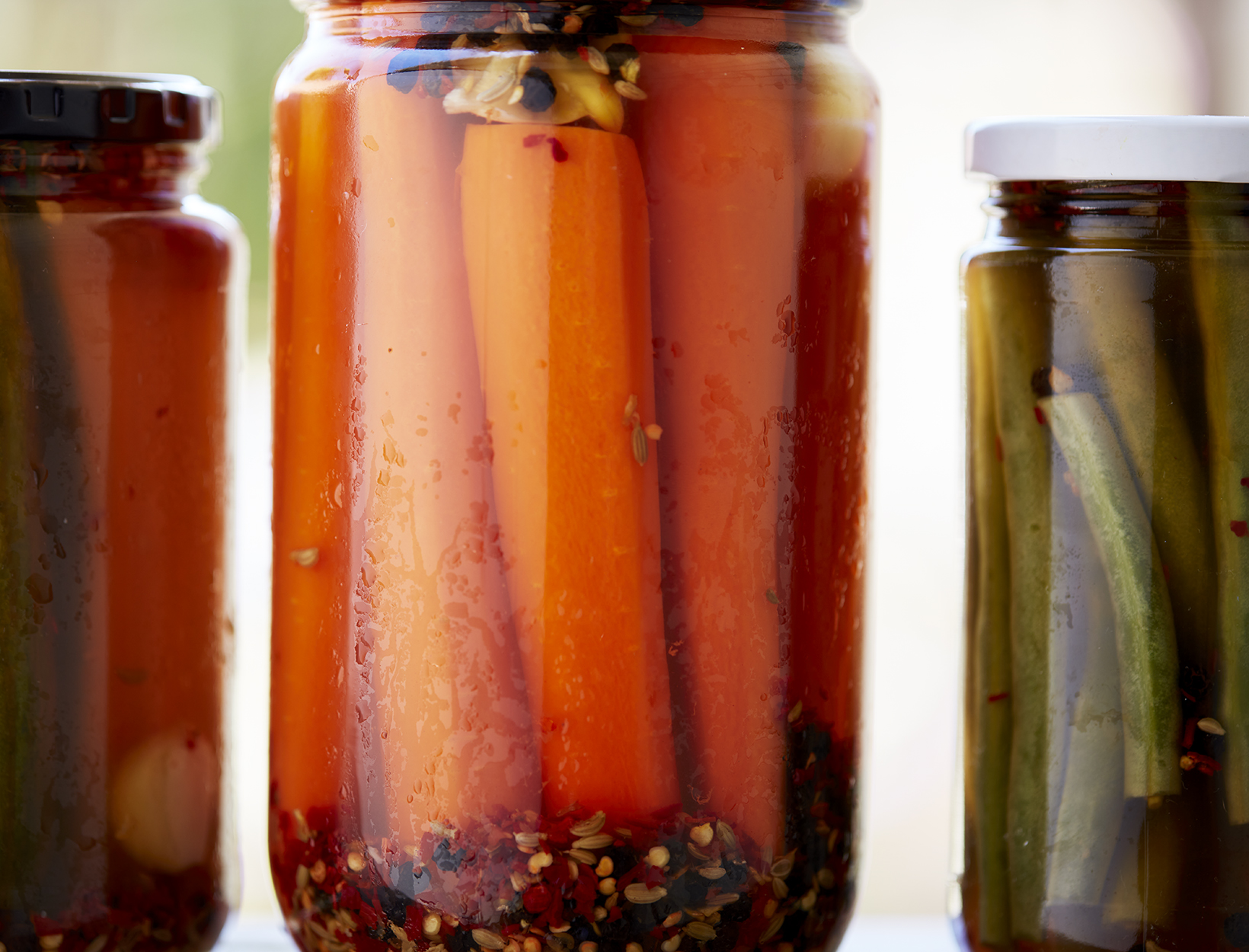 Spicy Pickles with Chili and Fennel