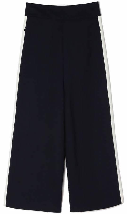 TIBI navy track pants