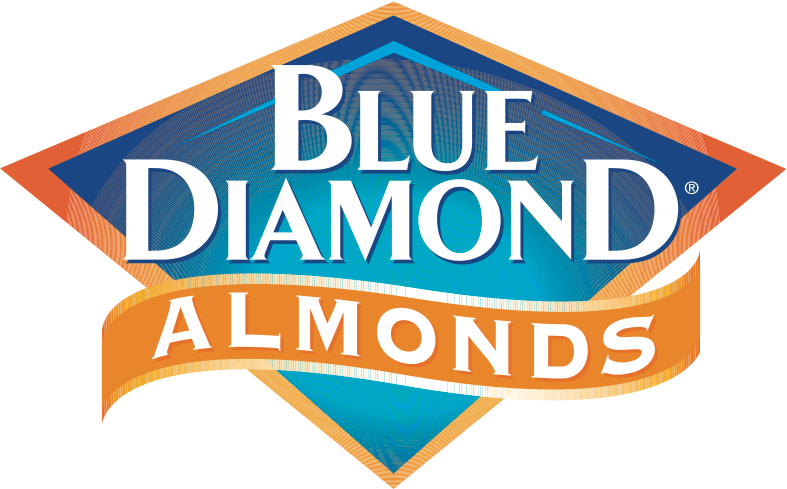 Advertisement Blue Diamond Almonds Logo