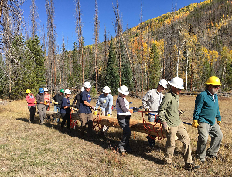 Volunteers for Outdoor Colorado <br>Colorado