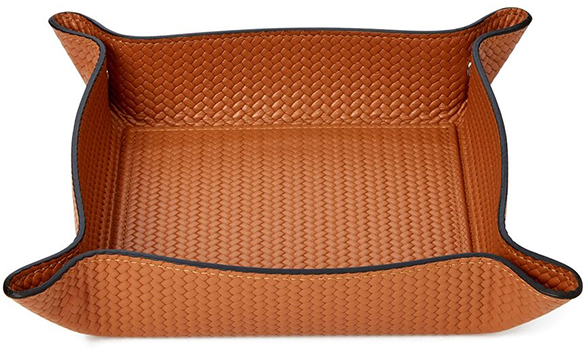 Pinetti Woven Leather Tray