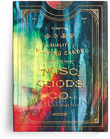 MISC. GOODS Deck of Playing Cards