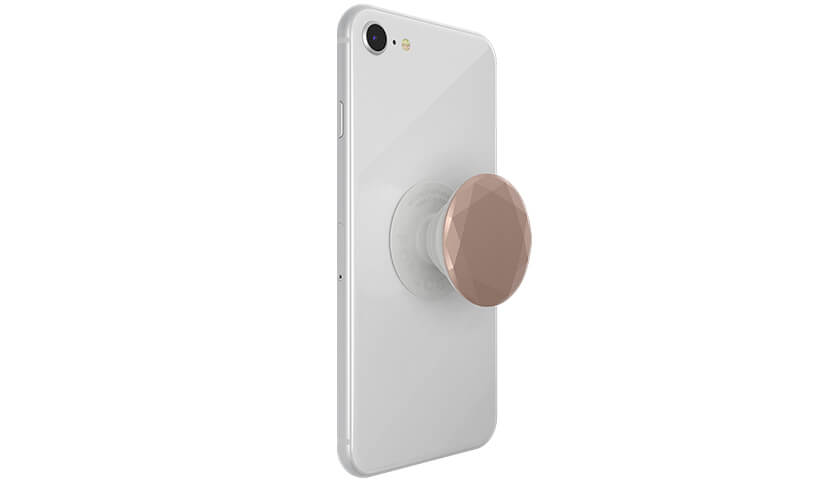 POPSOCKET PopGrip Rose Gold Metallic Diamond