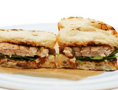 Asian Tuna Sandwiches with Soy & Sesame Mayo