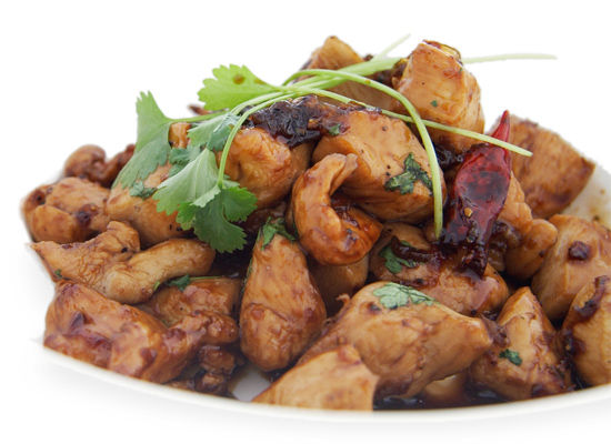 Caramelized Black Pepper Chicken