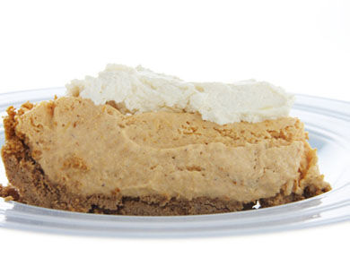 Pumpkin Ice Cream Pie with Maple Whipped Cream