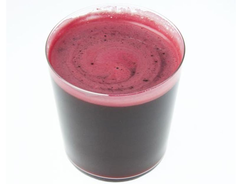 Beet, Carrot, Apple And Ginger Juice