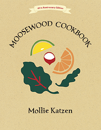 Moosewood Cookbooks, by Mollie Katzen