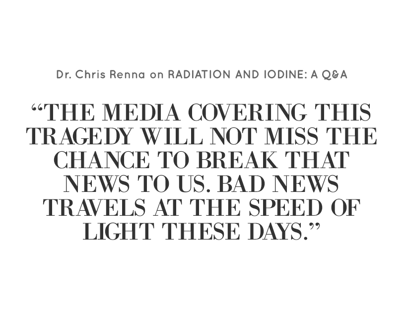 Radiation and Iodine: a Q&A | Goop