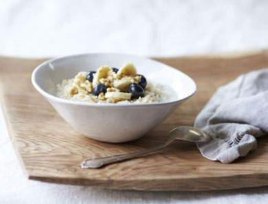 Slow-Cooking Gluten-Free Oats, Millet, Quinoa, Amaranth or Brown Rice Porridge