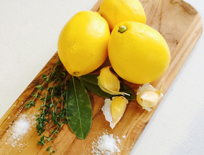 Quick-Cured Lemons