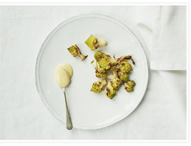 Crispy Romanesco with Lemon Aioli