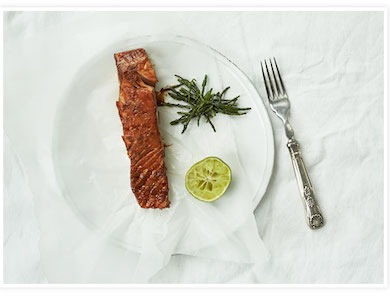 Broiled Balsamic Salmon