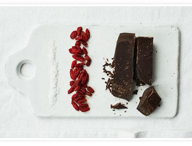 Chocolate-Covered Goji Berries