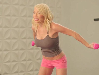 Tracy Anderson's 15-Minute Workout