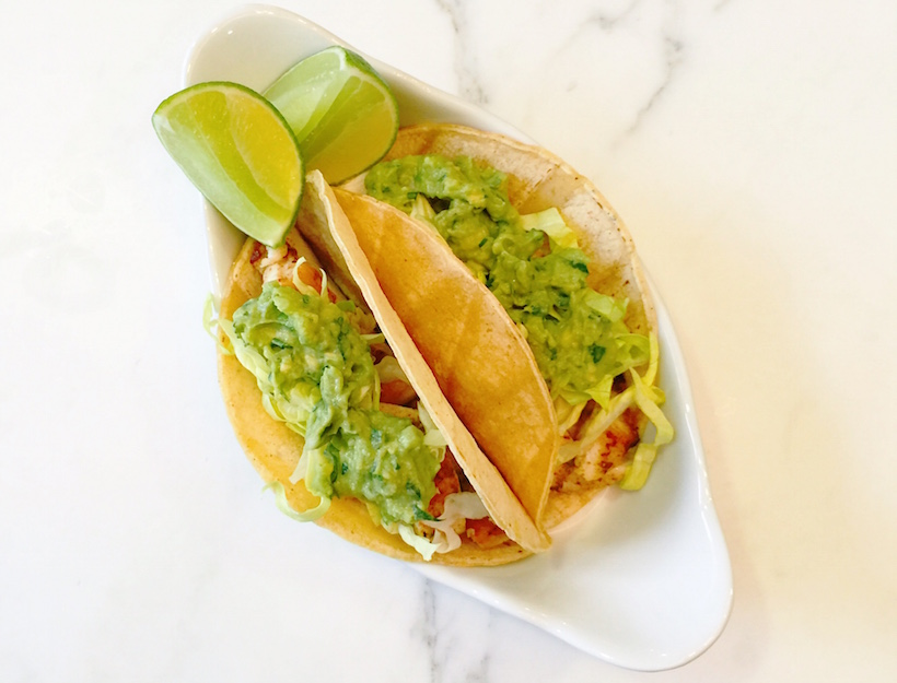 Mexican Chicken Breast Tacos