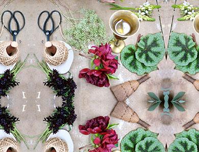 A DIY Botany Garland_390x297