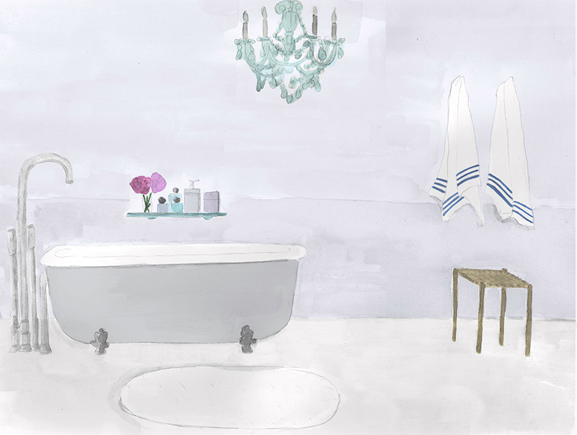 Illustration-Bathroom
