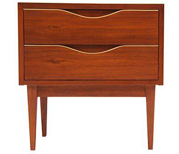 Chairish Vintage Pair of Mid-Century Modern Night Stands