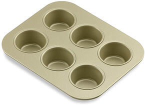 Williams-Sonoma Gold Touch Muffin Tins