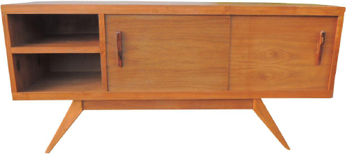 Chairish, Vintage Mid-Century Media Credenza, approximately