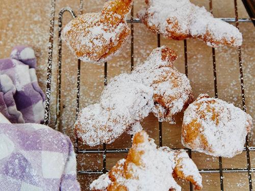Powdered Sugar Beignets