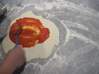 Pizza: Sauce