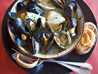 New England Bouillabaisse For One Recipes — Dishmaps