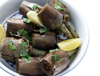 ARTICHOKES WITH BASIL & MINT_390x297