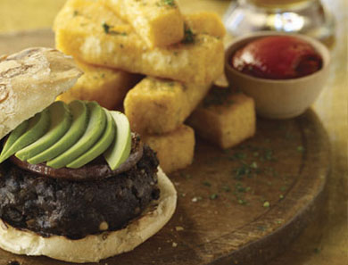 BLACK BEAN-CHIPOTLE BURGERS_390x297