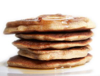 Buckwheat & Banana Pancakes