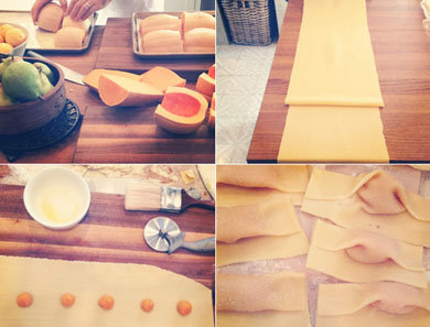 Butternut Squash Raviolini