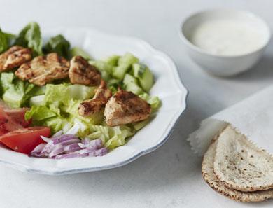 Chicken Gyro Salad