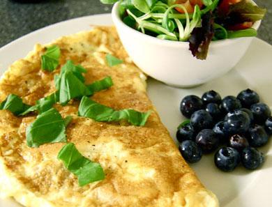 Easy, Cheesy Omelette