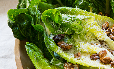 Romaine, Candied Walnuts, Pecorino